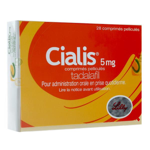 Cialis 5 mg 28 comprimes